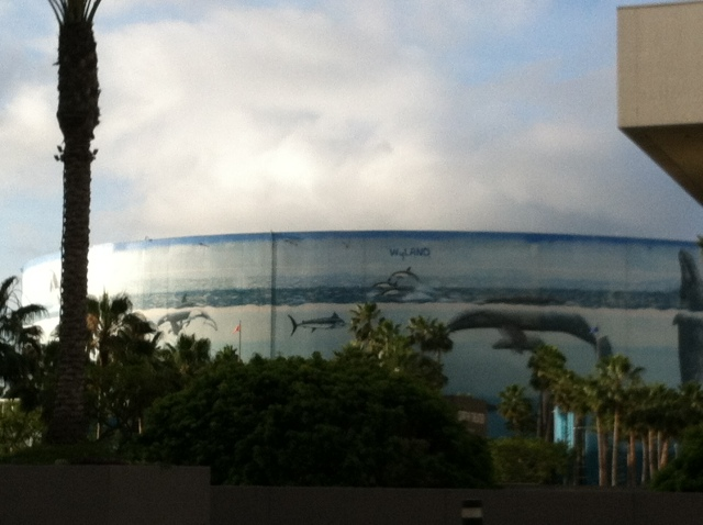 Wyland mural in Long Beach