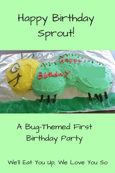 Happy First Birthday Party, Sprout!
