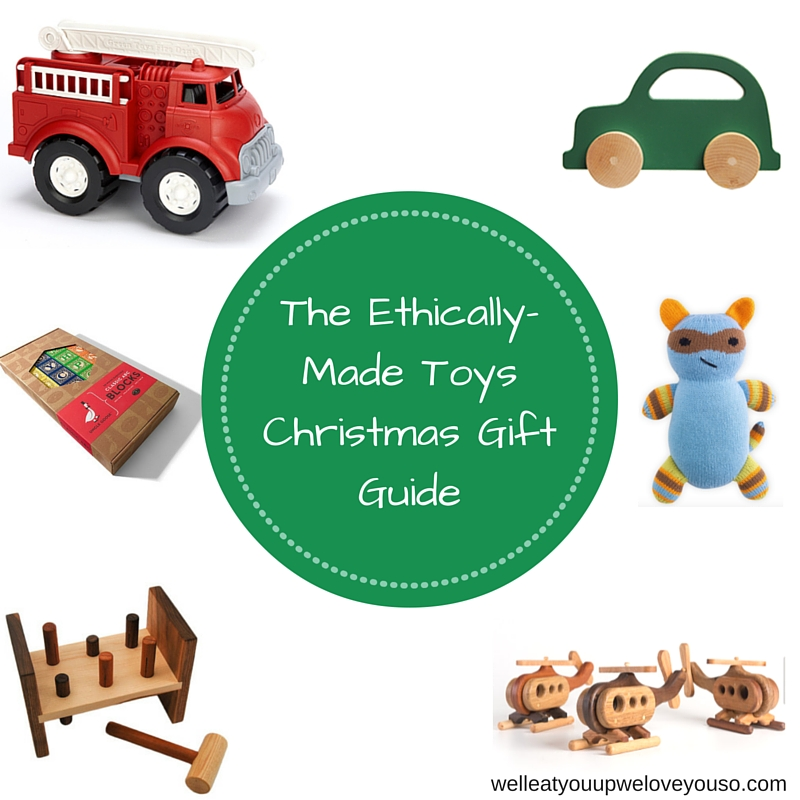 Ethically Made Toys Christmas Gift Guide