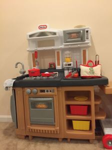 Our son's toy kitchen!