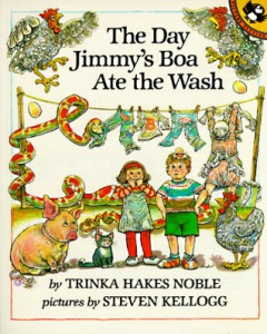 The Day Jimmy's Boa Ate the Wash cover