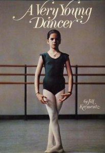 Cover of a Very Young Dancer, with a young ballerina on the cover.