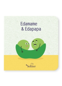 Edamame and Edapapa cover with two beans in a pod