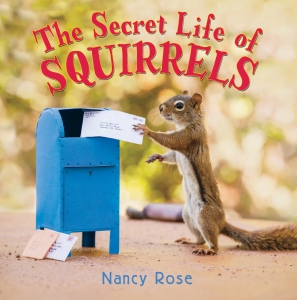 Secret Life of Squirrels cover with a squirrel checking a mailbox