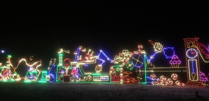 Lights display
