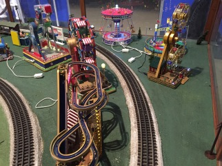 Model train carnival
