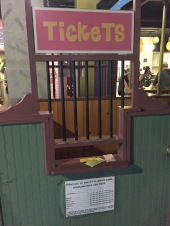 Trolley ticket booth