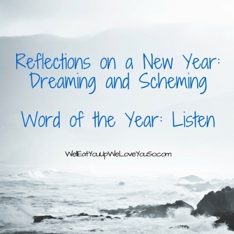 Reflections on a New Year_ Dreaming and SchemingWord of the Year_ Listen