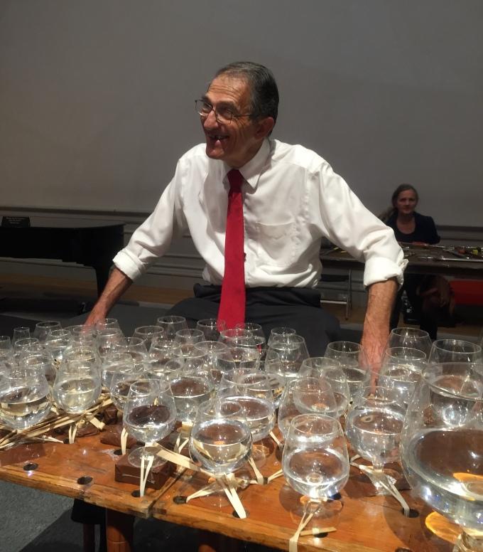 Wine glass music Renwick Gallery