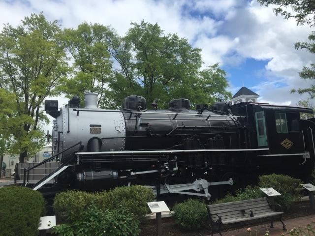 Locomotive at Gaithersburg Community Museum