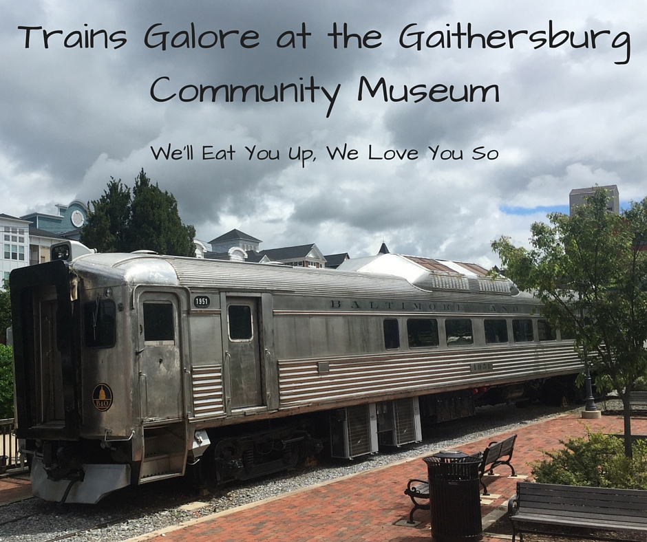 Trains Galore at the Gaithersburg Community Museum