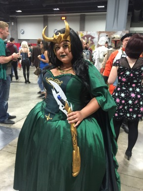 Cross-played Loki at AwesomeCon
