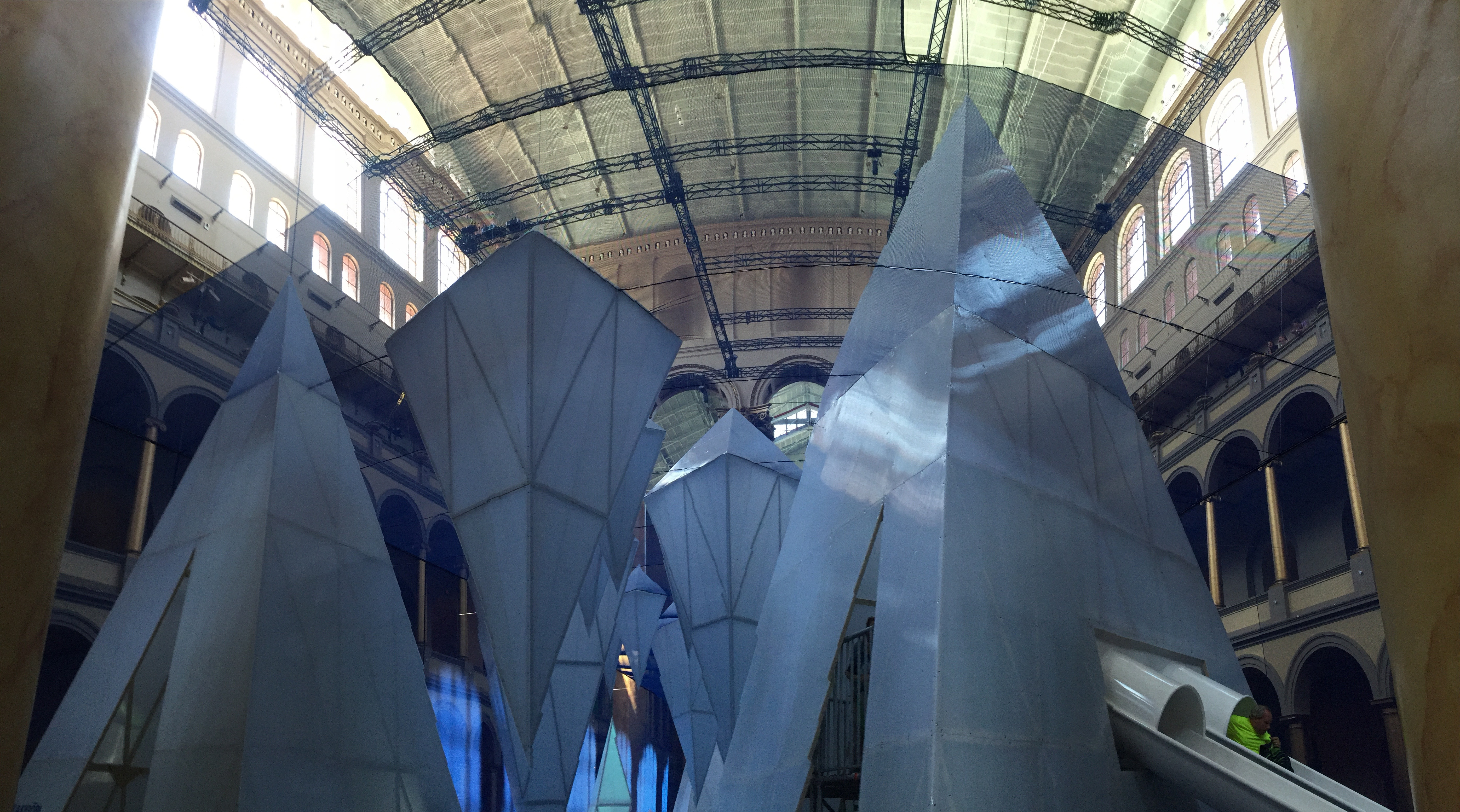 Icebergs at National Building Museum 2