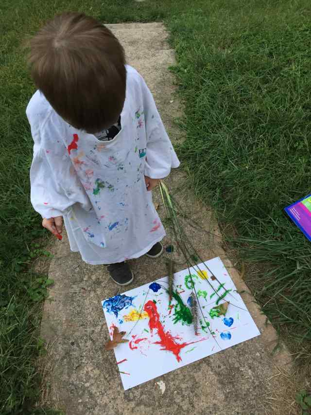 Nature painting Outdoors Family Challenge.jpg