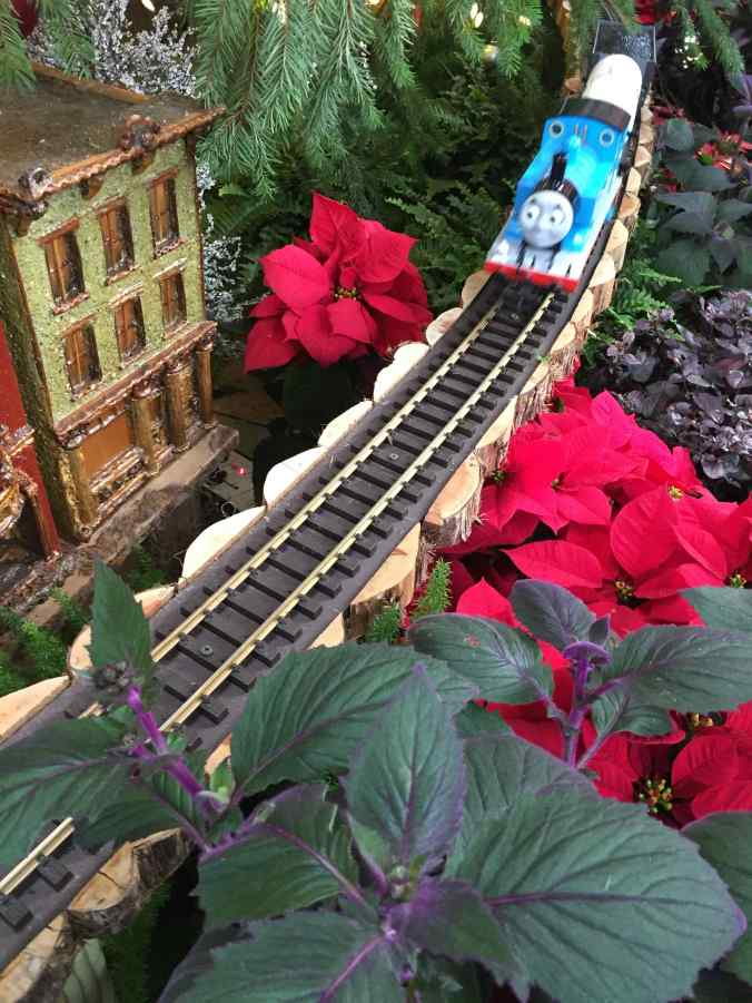 Thomas the train at Botanical Gardens