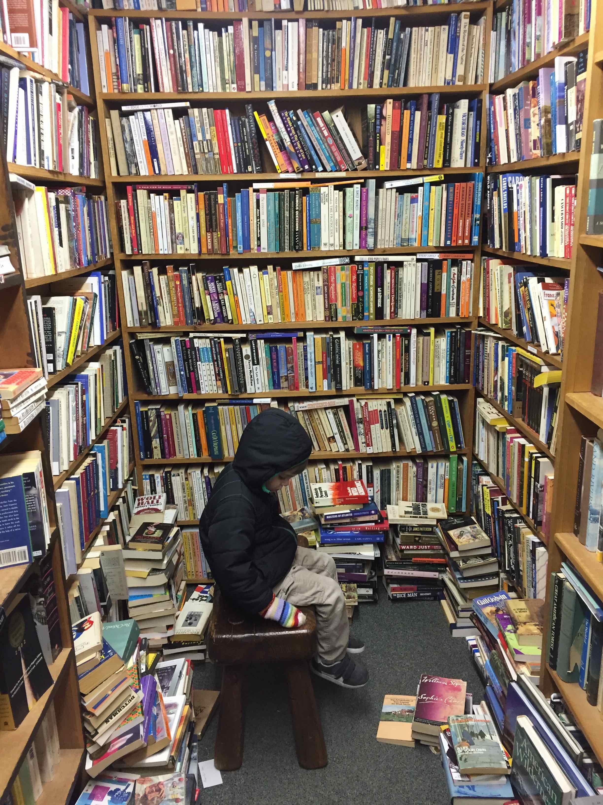 Lyrical Ballad bookstore interior